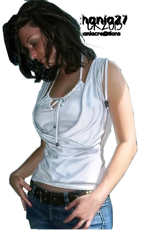 Tube femme en jean