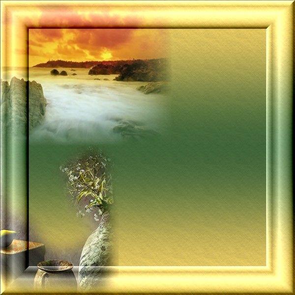 Créa cadre paysage