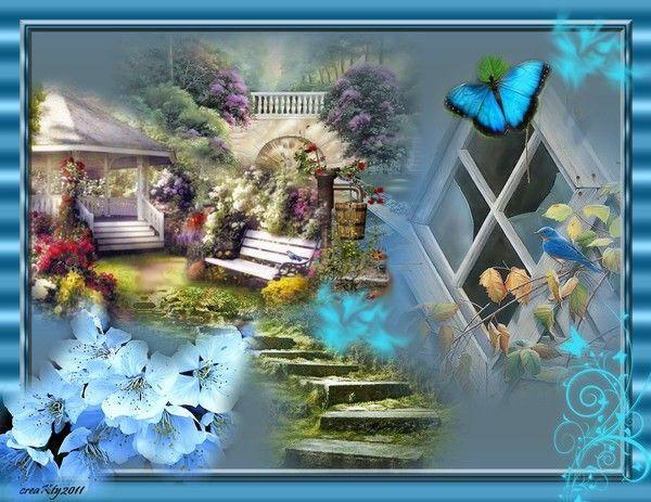 Azul como soñar ........