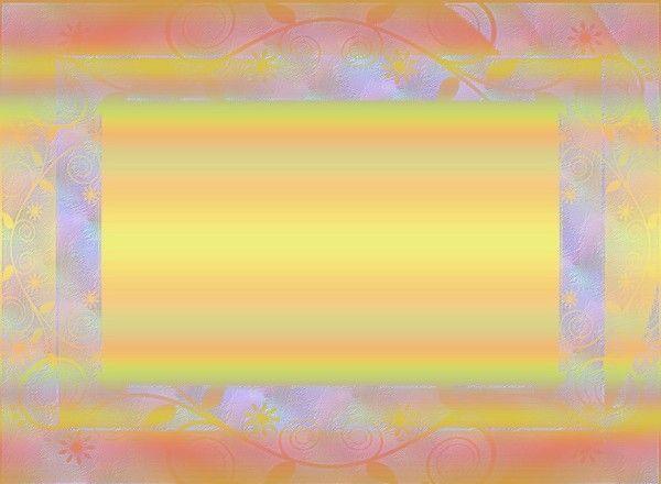 Créa cadre multicolore