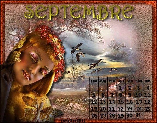 Calendrier Septembre 2011